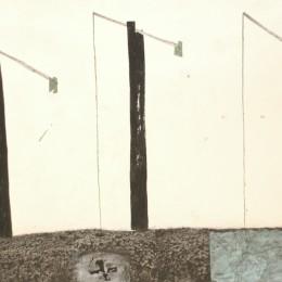 Fantani, desen colaj carton. dim 56-35 cm