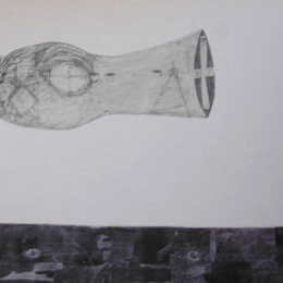 Flux - grafica colaj panza - 200 x 133 cm