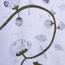 Calea 12, creion tempera, 21,29cm