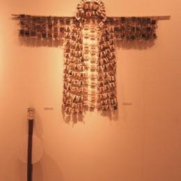 Haina de Sfinti - tempera, lemn, sfoara - 120,170 cm